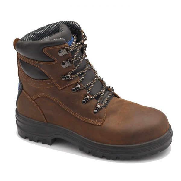 Blundstone 143 Lace Up Safety Boot Crazy Horse-0