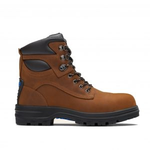 Blundstone 143 Lace Up Safety Boot Crazy Horse