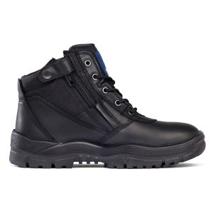 Mongrel 261020 Zip Side Safety Boot Black