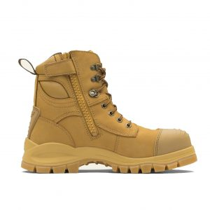 BLUNDSTONE 992 UNISEX ZIP UP SERIES SAFETY BOOTS - WHEAT