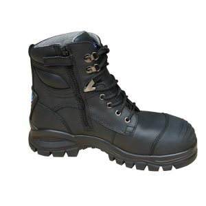 Blundstone 997 Lace with Zip & Scuff  Safety Boots BlackBlundstone 997 Lace with Zip & Scuff Safety Boots Black-0