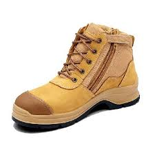 Blundstone 318 Lace up with Zip & Scuff Cap Safety Boot WheatBlundstone 318 Lace up with Zip & Scuff Cap Safety Boot Wheat-0