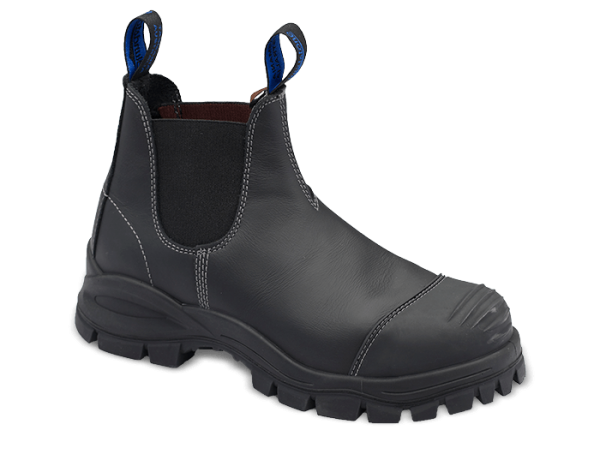Blundstone 990 Slip On with Scuff Safety Boots Black-177