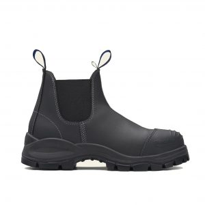 BLUNDSTONE 990 UNISEX ELASTIC SIDED SERIES SAFETY BOOTS - BLACK