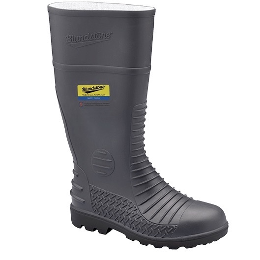 Blundstone Safety Gumboots Grey 025 (MenBoots)
