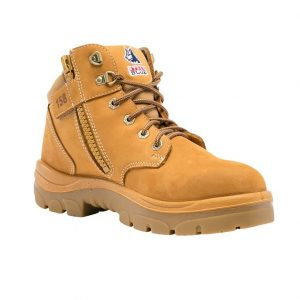 Steel Blue Parkes 312158 Zip Safety Boots Wheat