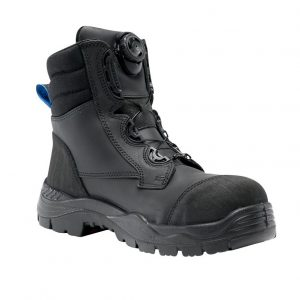 Steel Blue Torquay Spin-FX 327530 Safety Boots Black