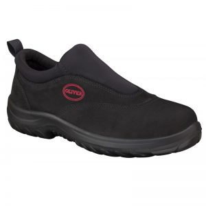 Oliver Slip On Safety Shoe Black 34-610Oliver Slip On Safety Shoe Black 34-610 (MenBoots)