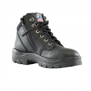 Steel Blue Ladies Parkes Zip 512758 Safety Boots Black