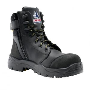 Steel Blue Torquay EH Zip 827539 Safety Boots Black