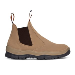 Mongrel 916040 Slip On Non Safety Boot Wheat
