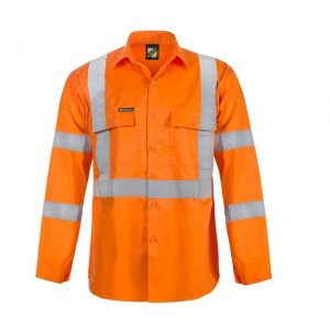 Workcraft WS6010 X Back Cool Lightweight HI-VIS Vented Shirt