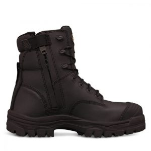 Oliver 45-645Z 150mm Zip Sided Safety Boot Black