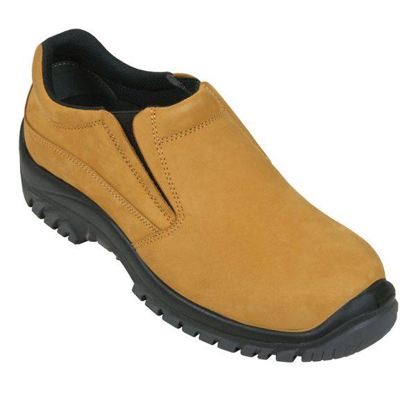 Mongrel Slip On Safety Shoe Wheat 315050