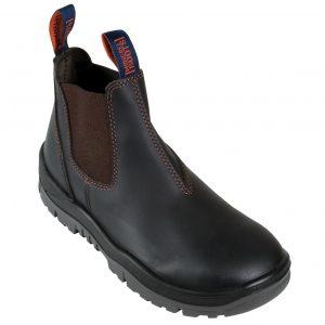Mongrel 916030 Oil Kip Slip On Non Safety Boot BlackCheap Work Boots Mongrel 916030 Oil Kip