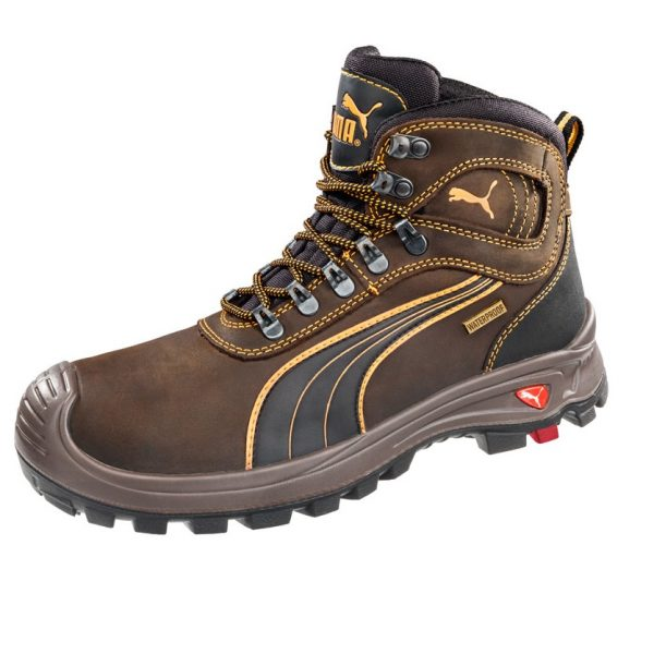 Puma 630227 Sierra Nevada Brown Water Proof Safety Boots-1184