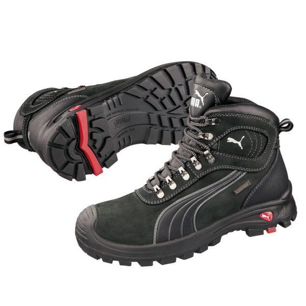 Puma 630527 Sierra Nevada Water Proof Safety Boots Black-0