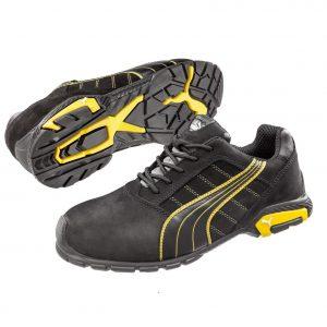 Puma 642717 Amsterdam Safety Shoe BlackCheap Work Boots Puma Amsterdam 642717 2