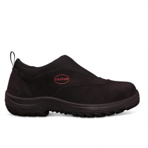 Oliver Slip On Safety Shoe Black 34-610