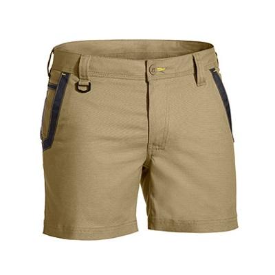 Cheap Work Boots Bisley Shorts Khaki