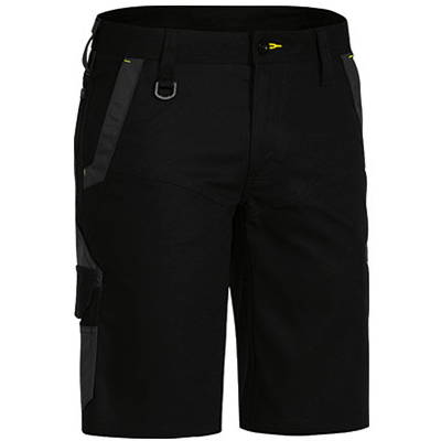 Cheap Work Boots Bisley Shorts BSHC1130_Black