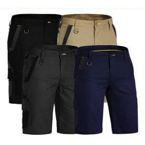 Bisley BSHC1130 Flex & Move Stretch ShortsCheap Work Boots Bisley Shorts BSHC1130_Group