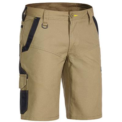Cheap Work Boots Bisley Shorts BSHC1130_Khaki