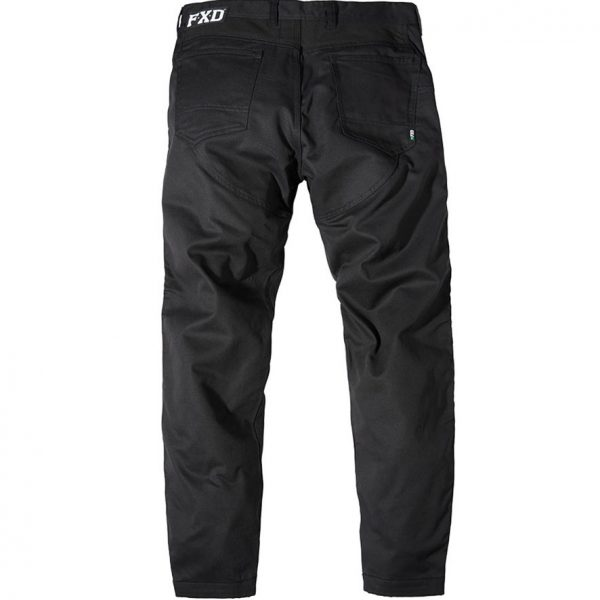 Cheap Work Boots FXD Pants WP-2 Black Back