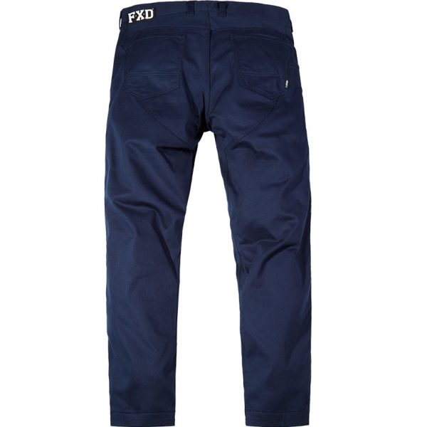 Cheap Work Boots FXD Pants WP-2 Navy Back