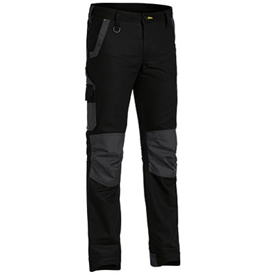 Cheap Work BootsBisley Flex N Move Pants BPC6130 Black
