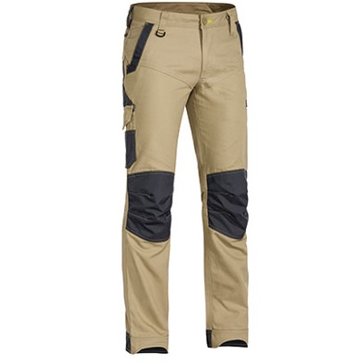 Cheap Work BootsBisley Flex N Move Pants BPC6130 Khaki