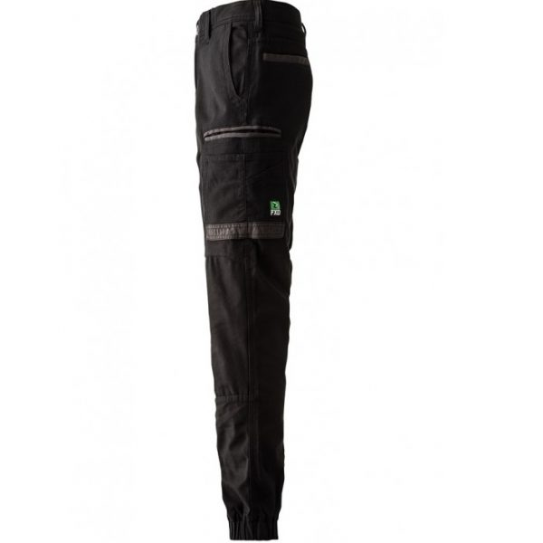 FXD Stretch Cuffed Work Pants WP-4 (Workwear Clothing) black