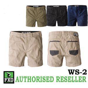 FXD WS-2 Shorter Work ShortsFXD Shorter Work Shorts WS-2 group