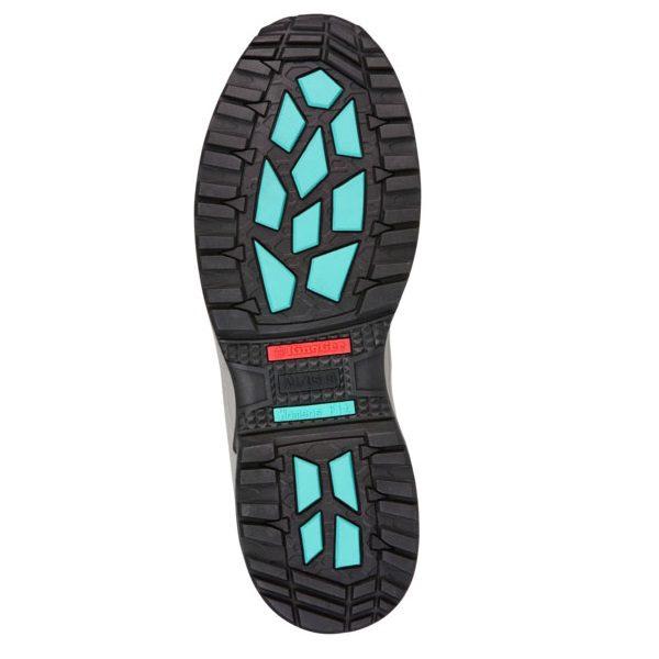 Kingee Ladies Tradie Zip Black Safety Cheap Work Boots K27370 J