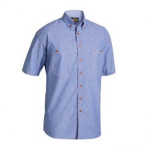 Bisley B71407 Chambray S/S Shirt