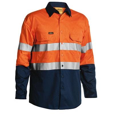 cheap work boots bisley BS6896_orange Navy