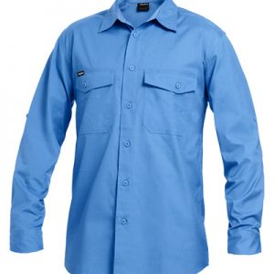 KingGee K14820 Workcool 2 L/Sleeve RipStop Shirt