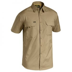 Bisley BS1414 X Airflow™ Ripstop Shirt - Short Sleevecheap work boots bisley BS1414_KHAKI