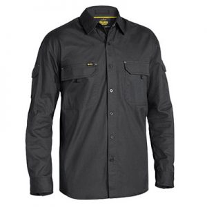 Bisley BS6414 X Airflow™ Ripstop Shirt - Long Sleevecheap work boots bisley BS6414_CHARCOAL