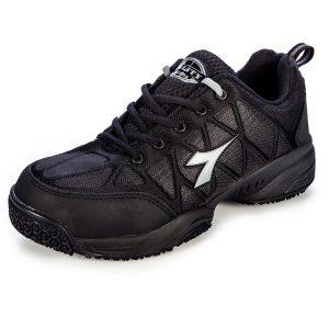 Diadora N2114M Comfort Worker Lightweight Safety JoggerCheap Work Boots Diadora Comfort Worker N2114M Safety Shoe Black