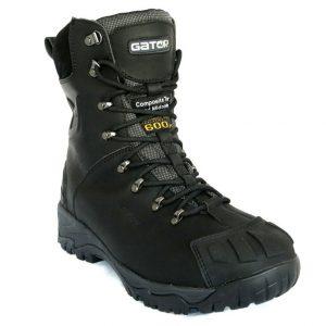 Gator GP2404 Polar Cool Room/Freezer Black Safety BootCheap Work Boots Gator Polar GP2404
