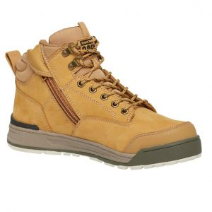 Hard Yakka Y60205 3056 Zip Side Safety Boot Oakcheap work boots hard yakka Y60200-wheat