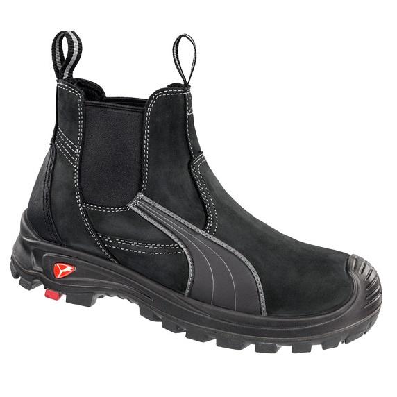 cheap work boots puma 630347 tanami black