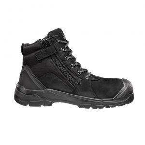 Puma 630797 Tornado Black Zip Side Safety Boot