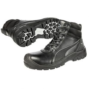 Puma 630797 Tornado Black Zip Side Safety Bootcheap work boots puma 630797-Tornado Black 1