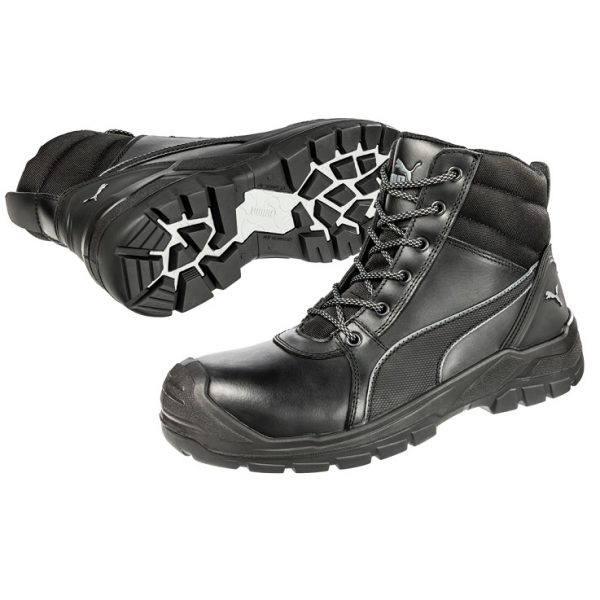 cheap work boots puma 630797-Tornado Black 1