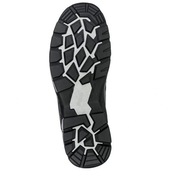 cheap work boots puma 630797-Tornado Black sole