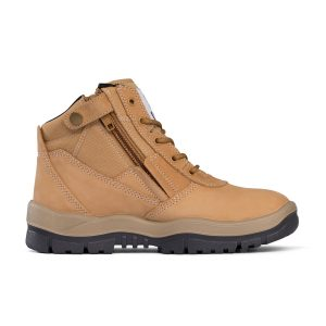 Mongrel 961050 Zip Side Non Safety Boot Wheat