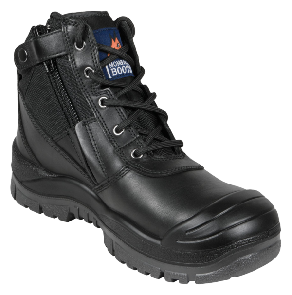 Cheap Work Boots Mongrel 461020 Safety Black Scuff