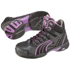 Puma 630607 Stepper Mid Ladies Safety JoggerCheap Work Boots Puma Stepper Mid 630607 1